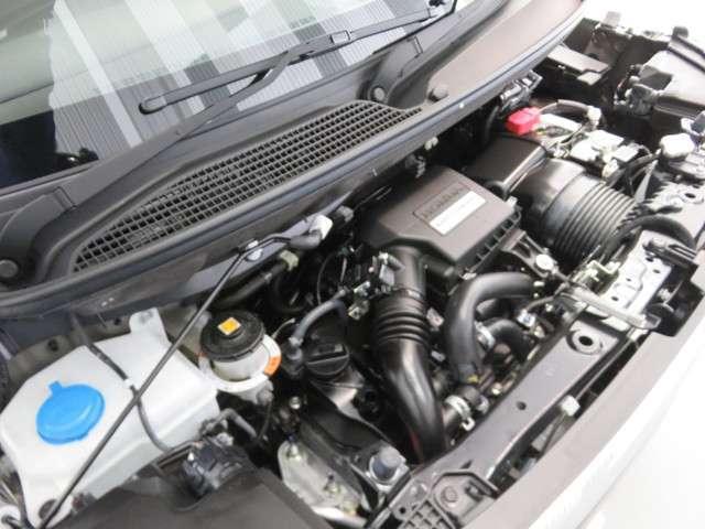 ターボエンジン 電動ウェストゲートが必要トルクに応じて過給圧をコントロール。ターボならではのパワフルな走りに加え、レスポンスの向上と、さらなる低燃費をめざしました。
