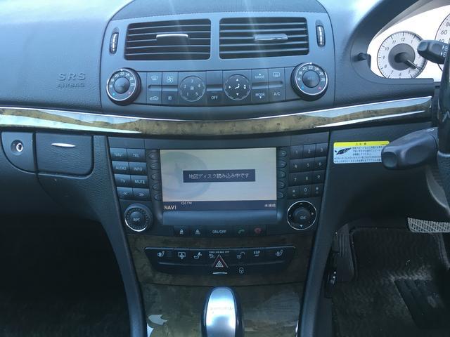 メルセデス・ベンツ M・ベンツ E280 E63AMG仕様 HID ETC ナビ ローダウン