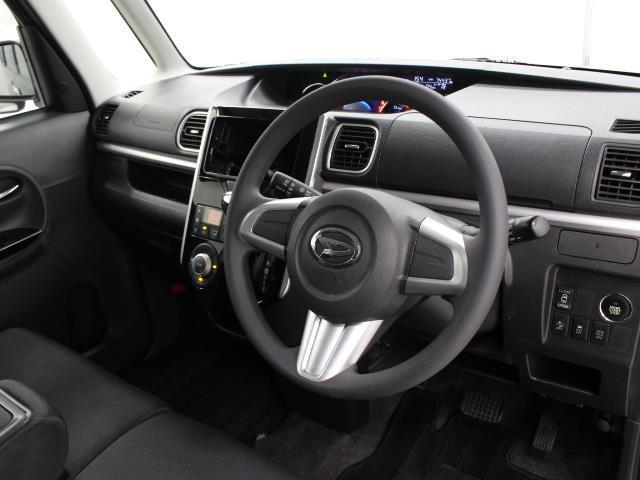 カスタムX SA LEDヘッド 1オーナ AW アイドリングストップ キーフリー 盗難防止システム ABS オートエアコン スマ-トキ- 左側電動スライド 衝突軽減ブレーキ付き パワーウインドウ ベンチシート(9枚目)