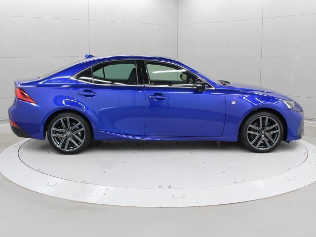 IS300 Iブルー SDマルチ フルセグ ブルーレイ再生 ミュージックプレイヤー接続可 バックカメラ ETC2.0 ドラレコ シートエアコン ムーンルーフ LEDヘッドライト Lexus Safety System+(5枚目)