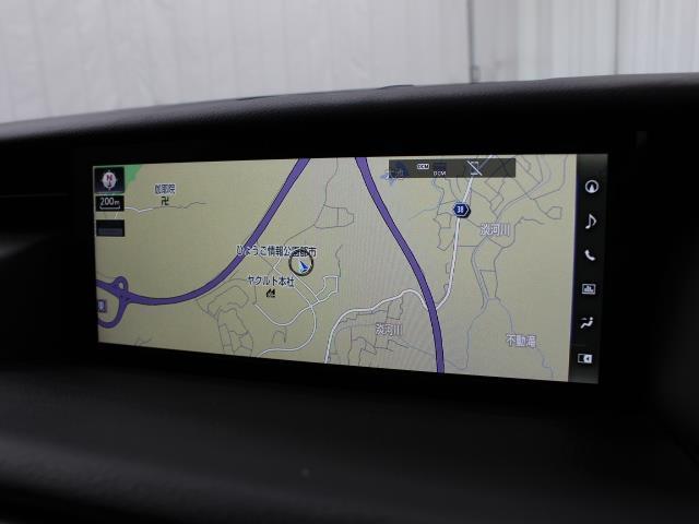 IS300 Iブルー SDマルチ フルセグ ブルーレイ再生 ミュージックプレイヤー接続可 バックカメラ ETC2.0 ドラレコ シートエアコン ムーンルーフ LEDヘッドライト Lexus Safety System+(10枚目)