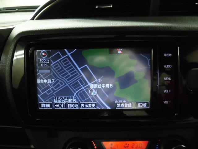 トヨタ ヴィッツ RS G's スマートパッケージ メモリーナビ フルセグ