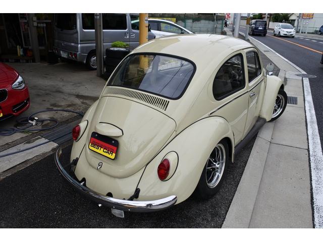 フォルクスワーゲン VW ビートル 1部ビンテージ仕様スタンダード 15AW ローダウン