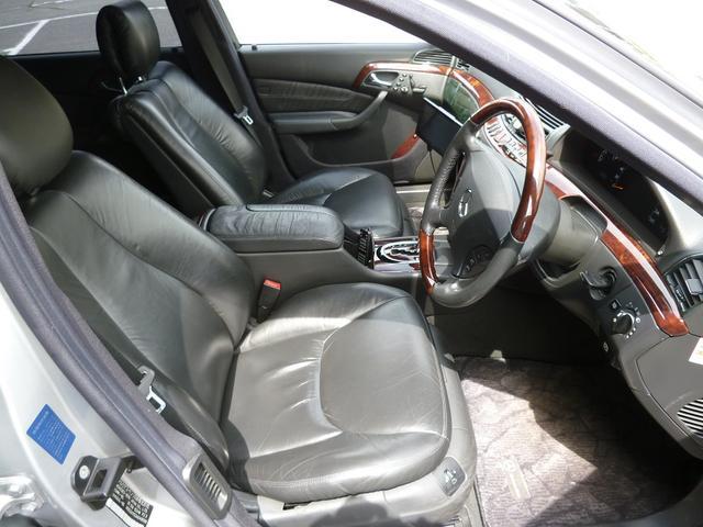 メルセデス・ベンツ M・ベンツ S500L 車庫保管 黒革 SR HID WALDアルミ