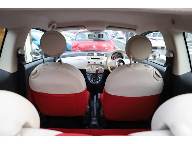 「フィアット」「500(チンクエチェント)」「コンパクトカー」「滋賀県」の中古車37