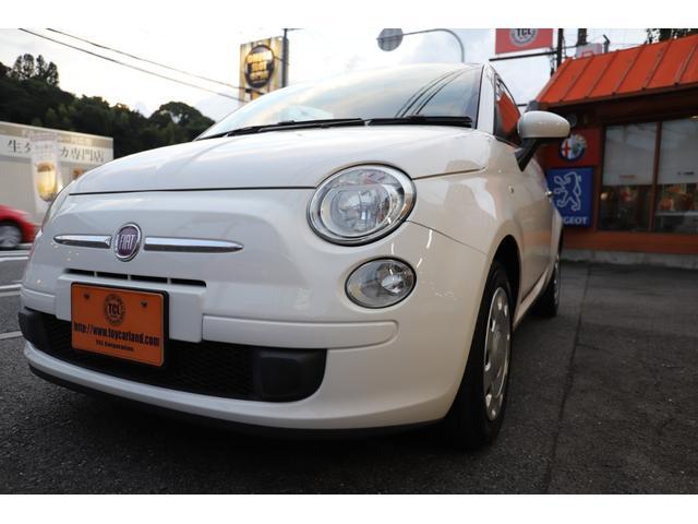 「フィアット」「500(チンクエチェント)」「コンパクトカー」「滋賀県」の中古車55