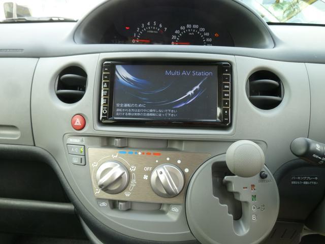 トヨタ シエンタ Xリミテッド 純正HDDナビ Bモニター 左側Pスライドドア