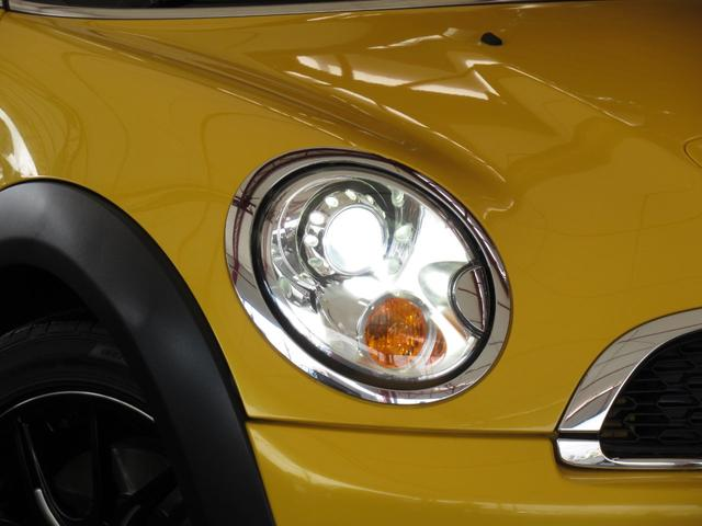 クーパーS コンバーチブル イエローカラー フル電動2分割オープン Carrozzeria製2DINナビ フルセグ地デジ リアビューカメラ Bluetoothオーディオ シートヒーター ETC バックソナー キセノンライト(40枚目)