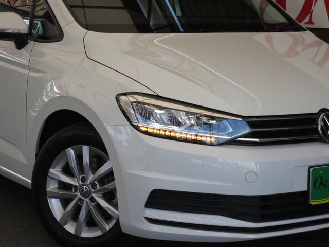 TSI コンフォートライン 1オーナー 禁煙車 新車時OPアップグレードPKG LEDヘッドライト プリクラッシュブレーキシステム オートホールド付きエレクトロニックパーキングブレーキ クルーズコントロール リアビューカメラ(7枚目)