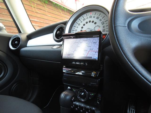 ワン 後期モデル アイスブルー CarrozzeriaインダッシュHDDナビ フルセグ地デジ Bluetoothオーディオ ミュージックサーバー 15インチAW ユニオンジャックドアミラーカバー(13枚目)