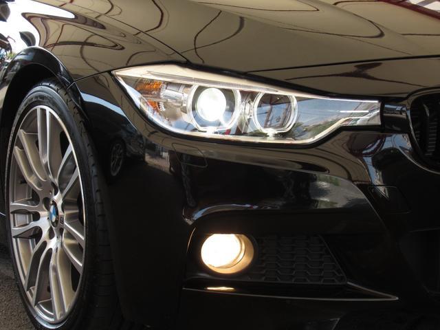 320i Mスポーツ 1オーナ 禁煙 純正オプション19AW 電動サンルーフ キセノン LEDポジションリング パドルシフト 前席パワーシート パーキングアシスト ドライビングパフォーマンスコントロール ナビ Bカメラ(8枚目)