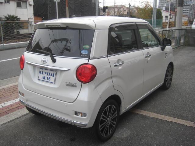 「ダイハツ」「キャスト」「コンパクトカー」「大阪府」の中古車60