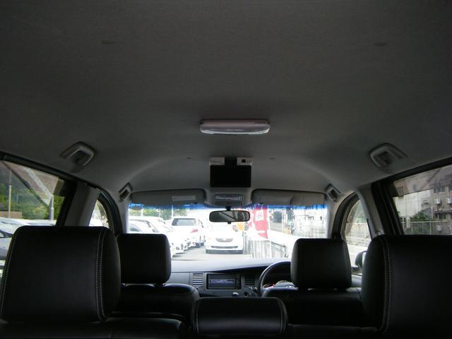 プラタナ Vセレクションホワイトインテリアパッケージ 純正HDDナビTV バックカメラ レザーシート 両側自動ドア 後席モニター 純正エアロ 純正アルミ オートライト キセノン スマートキー タイミングチェーン 7人乗 ETC 後期型(55枚目)