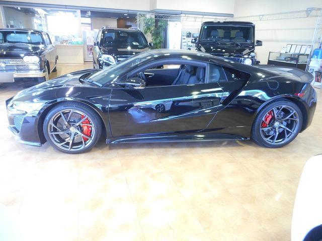 ホンダ NSX カーボンエクステリア カーボンセラミックブレーキ 黒革シート