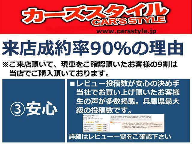兵庫県在庫台数70台以上の軽自動車専門店でグーネットレビュー投稿数No.1 2018年7月時点当店のレビュー投稿数は200件以上!ご購入いただいたユーザー様より平均評価4.9を頂いております!