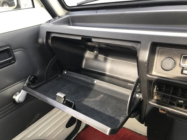 スズキ キャリイトラック 丸目 ラジオ 4MT ミッション車 アルミ バイザー
