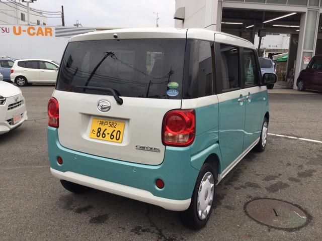 「ダイハツ」「ムーヴキャンバス」「コンパクトカー」「兵庫県」の中古車8