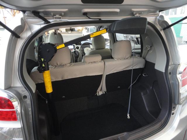 F助手席リフトアップシート車Bタイプ手動車いす収納装置(6枚目)