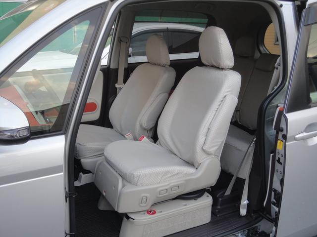 F助手席リフトアップシート車Bタイプ手動車いす収納装置(14枚目)