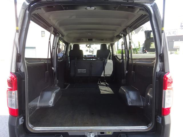 日産 NV350キャラバンバン ロングDX 4ドア 低床 9人乗 Mナビ Bカメラ