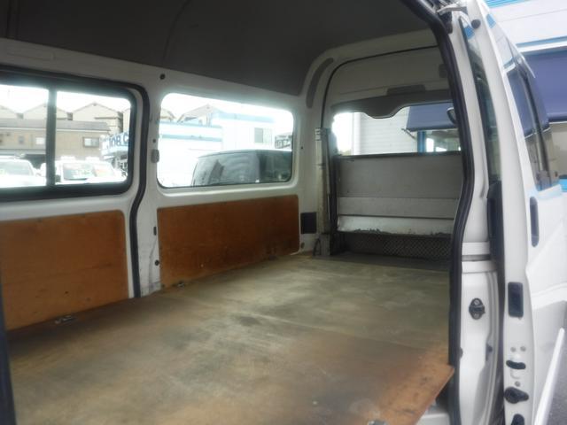 ロングジャストローDX 5ドア ハイルーフ 3人乗 リフト400kg 点検記録簿付 ワンオーナー車 両側スライド式リアサイドガラス パワーウインドウ ドアバイザー 盗難防止装置 ABS(21枚目)