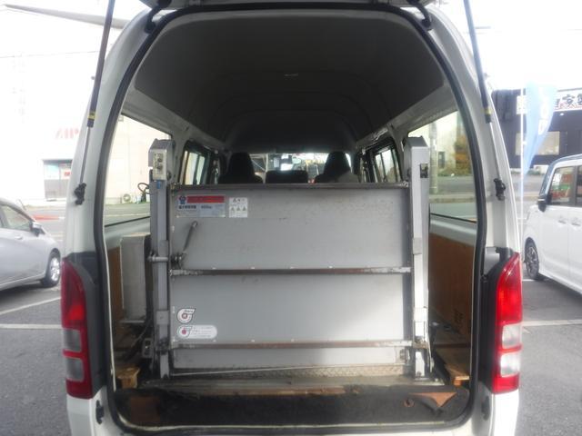 ロングジャストローDX 5ドア ハイルーフ 3人乗 リフト400kg 点検記録簿付 ワンオーナー車 両側スライド式リアサイドガラス パワーウインドウ ドアバイザー 盗難防止装置 ABS(22枚目)