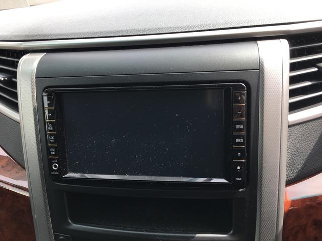 トヨタ ヴェルファイア 2.4Z プラチナムセレクション 純正HDDナビ