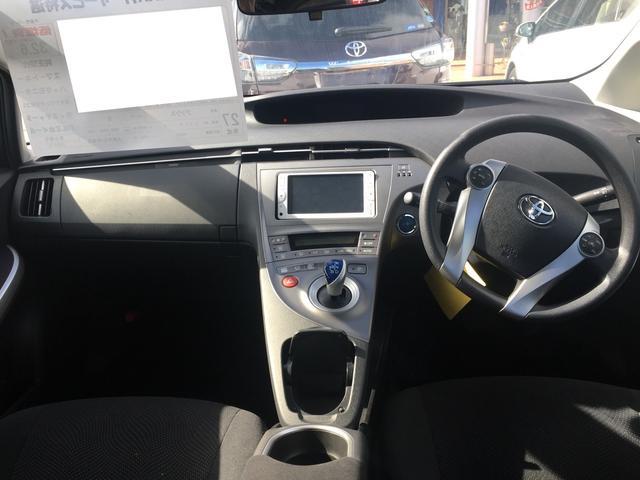 トヨタ プリウス S SDナビ アルミ 安全装備 基本装備 スマートキー