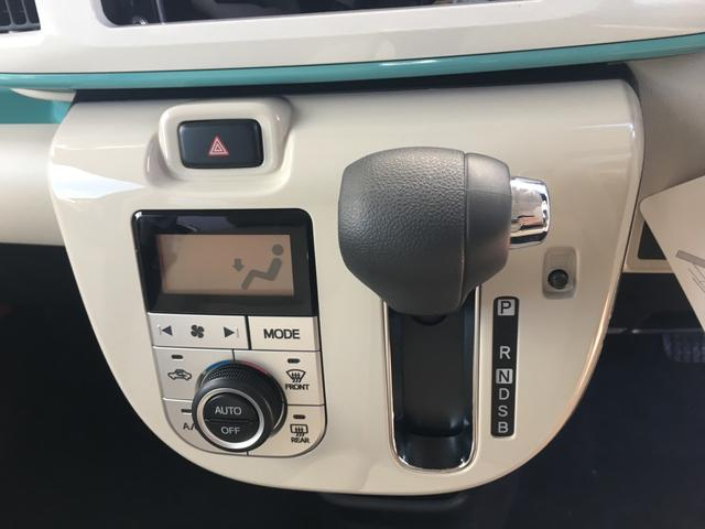 ダイハツ ムーヴキャンバス Gメイクアップ SAII 両側電動スライドドア 安全装備
