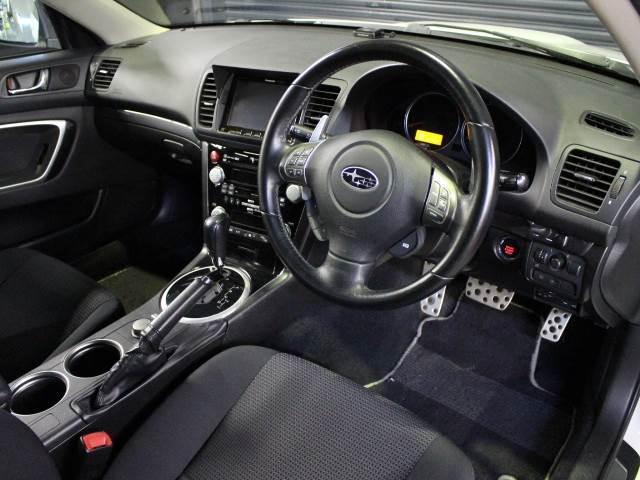 スバル レガシィツーリングワゴン W 2.0GTスペックB 純正HDDナビ スマートキー