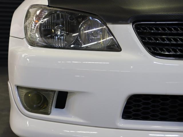 RS200 Zエディション 後期型 タイベル交換済 ナビ 地デジ エアロ 社外車高調 TRDマフラー 純正AW フォグ キーレス WSRS ETC HID(8枚目)