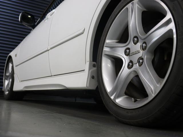 RS200 Zエディション 後期型 タイベル交換済 ナビ 地デジ エアロ 社外車高調 TRDマフラー 純正AW フォグ キーレス WSRS ETC HID(9枚目)