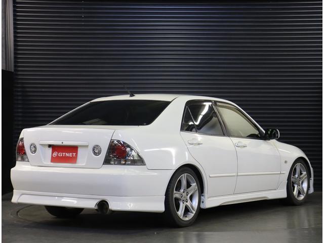 RS200 Zエディション 後期型 タイベル交換済 ナビ 地デジ エアロ 社外車高調 TRDマフラー 純正AW フォグ キーレス WSRS ETC HID(27枚目)