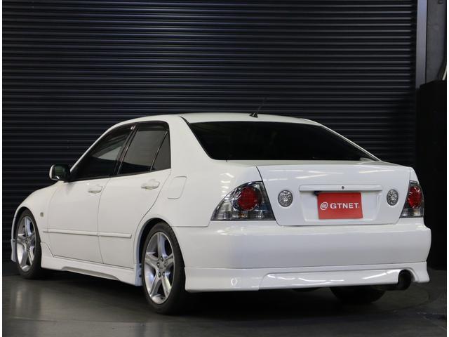 RS200 Zエディション 後期型 タイベル交換済 ナビ 地デジ エアロ 社外車高調 TRDマフラー 純正AW フォグ キーレス WSRS ETC HID(31枚目)