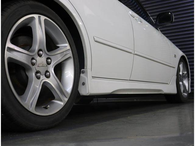 RS200 Zエディション 後期型 タイベル交換済 ナビ 地デジ エアロ 社外車高調 TRDマフラー 純正AW フォグ キーレス WSRS ETC HID(38枚目)