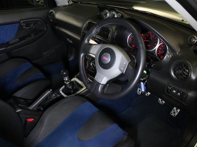 スバル インプレッサ WRX STi カロッツェリアHDDナビ STI追加メーター