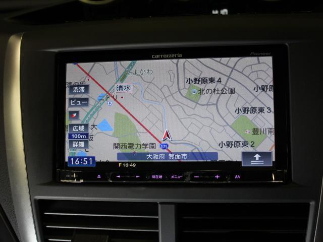 WRX STi ナビ フルセグ Bカメラ Defiメーター(14枚目)