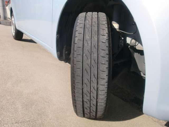 タイヤの山は十分有ります!