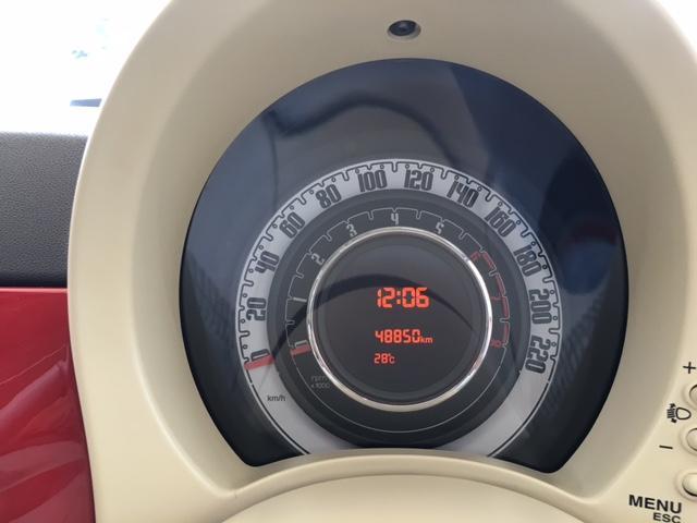フィアット フィアット 500 1.4 ラウンジ ガラスサンルーフ ナビTV