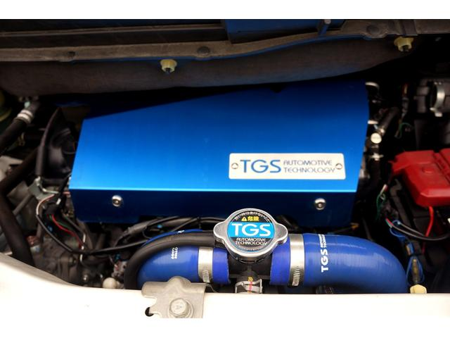 D パワーパッケージ 両側電動スライド 4WD TGS16AW BFGホワイトレタータイヤ リフトアップ コムテックGPSレーダー ドラレコ ストラーダナビ アルパインフリップダウンモニター シートヒーター HID(34枚目)
