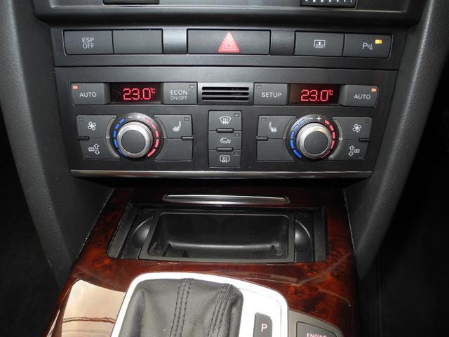2.8FSIクワトロ 1オーナー屋内保管4WD黒本革インテリアシートヒーターマルチナビ地デジフルセグ禁煙車走行42000KMディーラー整備記録簿(14枚目)