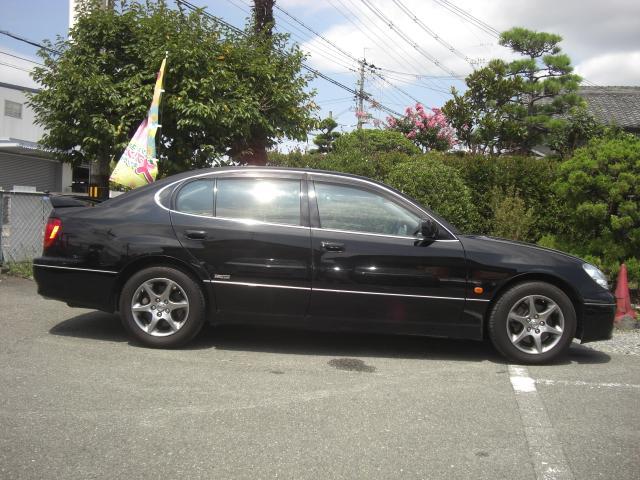 トヨタ アリスト S300ベルテックスEDマルチナビタイベル交換済ETCHID