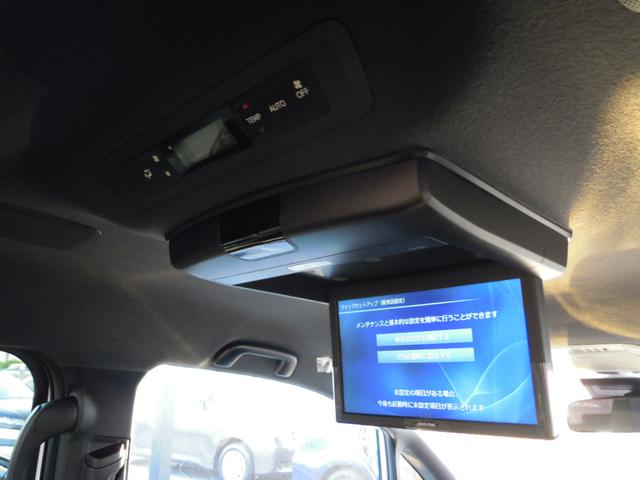 アルパイン製フリップダウンモニター☆後席独立で前席と別々のソース選択可能です☆オプション装備になります。