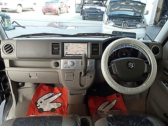 スズキ エブリイワゴン PZターボ ターボ 両側スライド片側電動ドア キーレス ナビ