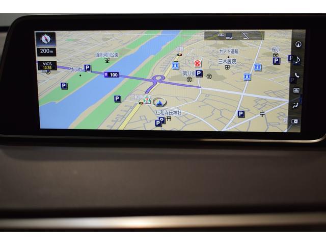RX200t バージョンL CD フルセグテレビ メモリーナビ 本革シート ETC バックカメラ 後席モニター(13枚目)