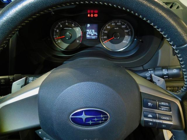 2.0i-S アイサイト メモリーナビゲーション フルセグテレビ ETC DVD再生機能 CD スマートキー ディスチャージヘッドライト 純正アルミホイール 衝突軽減ブレーキ 踏み間違いブレーキ クルーズコントロール(60枚目)
