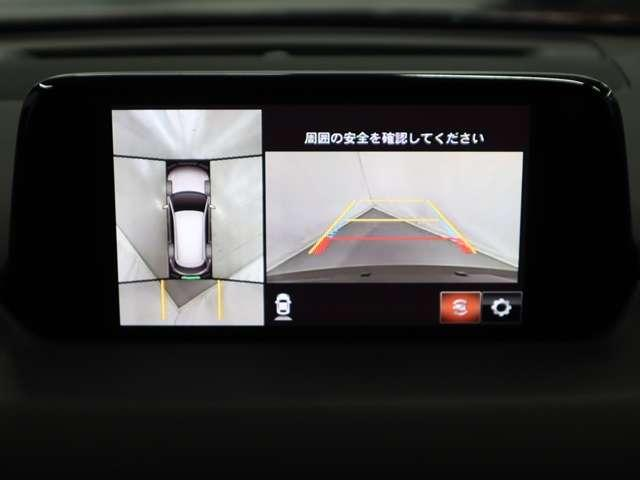 2.2 XD Lパッケージ ディーゼルターボ 4WD マツダ認定中古車 サポカー 衝突被害軽減ブレーキ マツダコネクトメモリーナビ 360度カメラ リアシートモニター LEDライト 3列シート 6人乗り(6枚目)