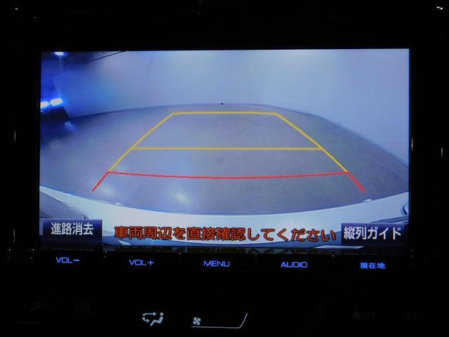 車庫入れもご安心ください☆バックモニター装着車です☆目視では確認しづらい車両後方をナビ画面で確認できます