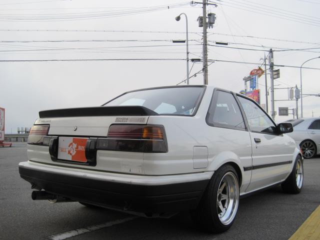 トヨタ カローラレビン GT AC付き ロンシャン15インチアルミ