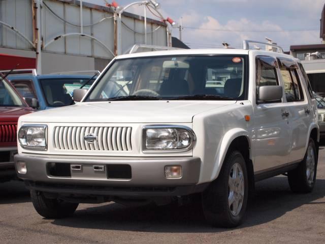 日産 ラシーン タイプA キーレス 新品背面タイヤカバー 再生整備